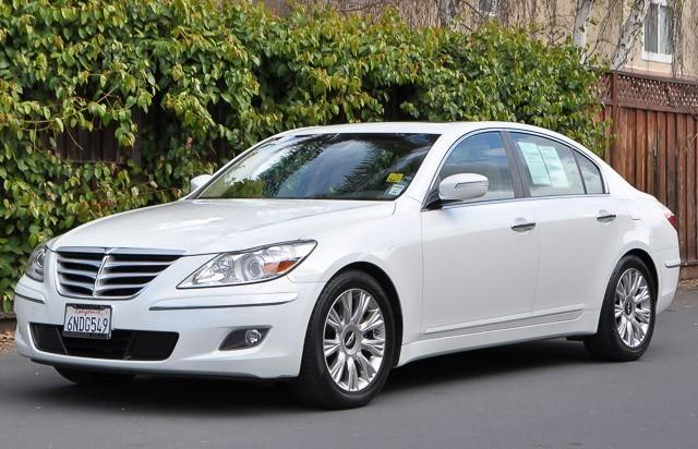 2010 HYUNDAI GENESIS 38L V6 4DR SEDAN white we finance everybody having trouble financing a car