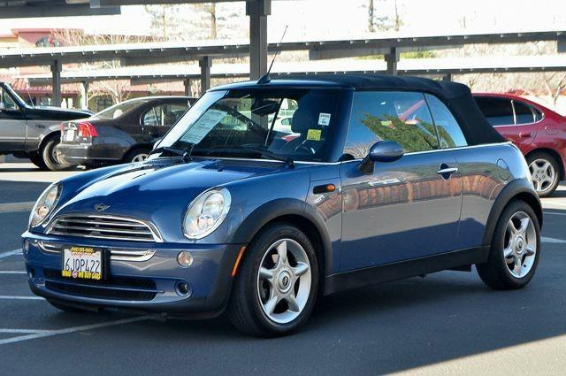 2005 MINI COOPER BASE 2DR CONVERTIBLE blue we finance everybody  having trouble financing a car