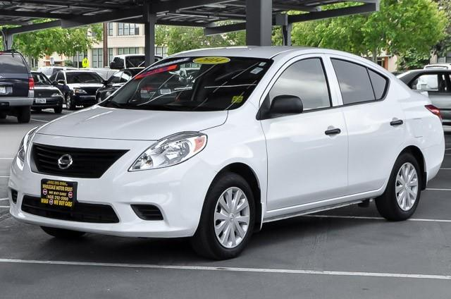 2014 NISSAN VERSA 16 S 4DR SEDAN 4A white we finance everybody having trouble financing a car