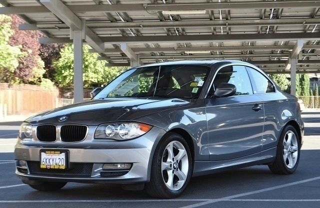 2010 BMW 1 SERIES 128I 2DR COUPE SULEV gray we finance everybody  having trouble financing a car