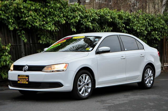 2011 VOLKSWAGEN JETTA SE PZEV 4DR SEDAN 6A white we finance everybody  having trouble financing