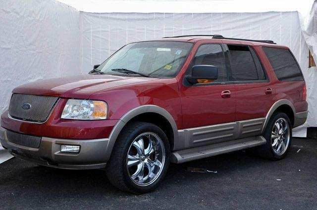 2004 FORD EXPEDITION EDDIE BAUER 4DR SUV red contact los amigos auto sales today for information o