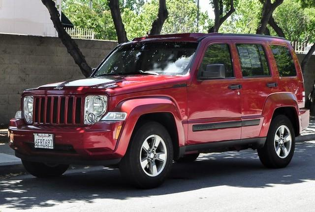 2008 JEEP LIBERTY SPORT 4X2 SUV red we finance everybody having trouble financing a car we gua