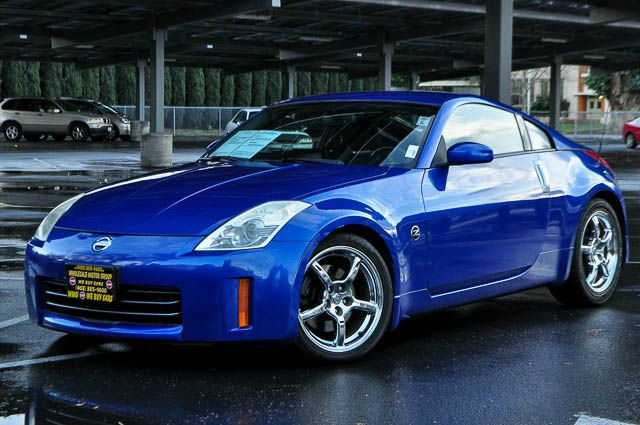 2006 NISSAN 350Z ENTHUSIAST 2DR HATCHBACK 35L V blue we finance everybody  having trouble fina