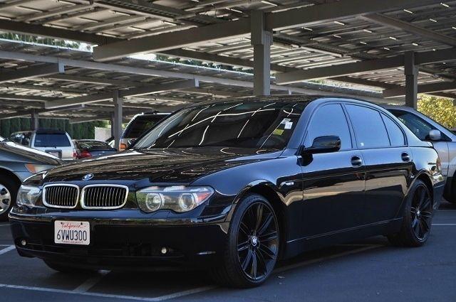 2003 BMW 7 SERIES 745LI 4DR SEDAN black we finance everybody  having trouble financing a car w