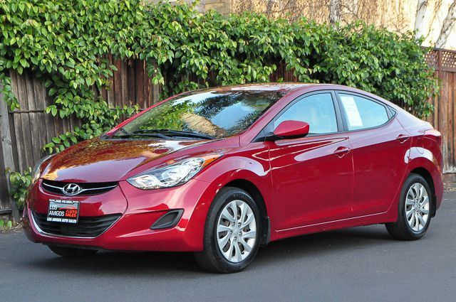 2012 HYUNDAI ELANTRA GLS 4DR SEDAN 6A red we finance everybody  having trouble financing a car