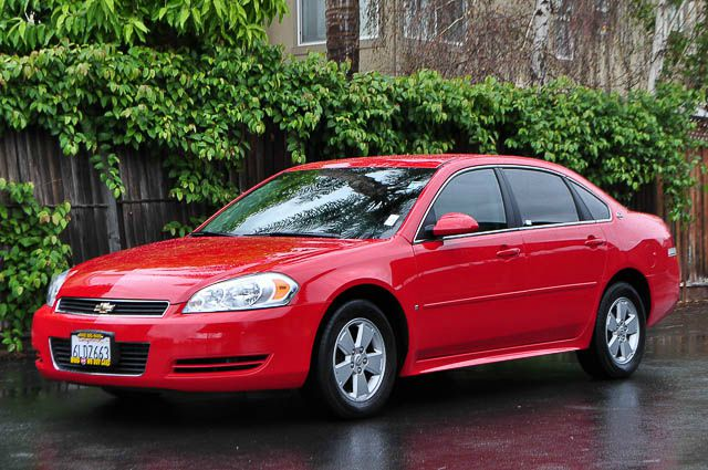 2009 CHEVROLET IMPALA LT 4DR SEDAN red we finance everybody  having trouble financing a car we