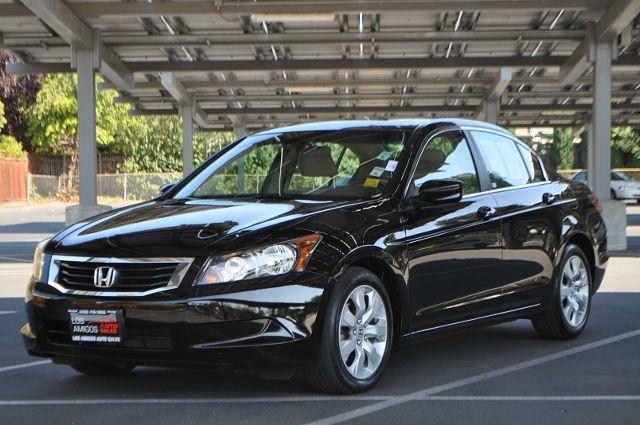 2009 HONDA ACCORD EX 4DR SEDAN black we finance everybody  having trouble financing a car we g