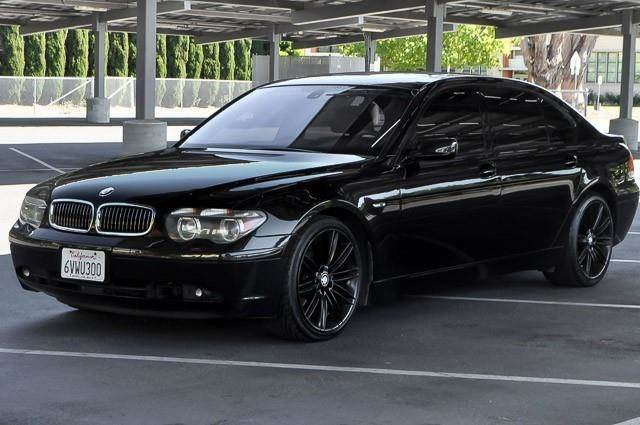 2003 BMW 7 SERIES 745LI 4DR SEDAN black we finance everybody having trouble financing a car we