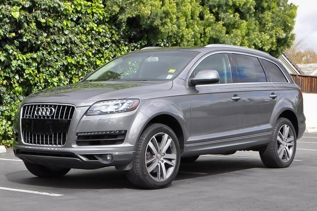 2010 AUDI Q7 30 QUATTRO TDI PREMIUM PLUS AWD graphite gray metallic we finance everybody having