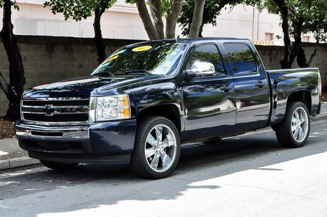 2007 CHEVROLET SILVERADO 1500 WORK TRUCK 4DR CREW CAB 58 FT blue thank you for your interest in