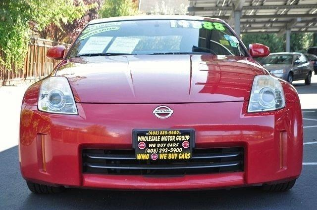 2006 NISSAN 350Z ENTHUSIAST 2DR HATCHBACK 35L V red we finance everybody  having trouble finan
