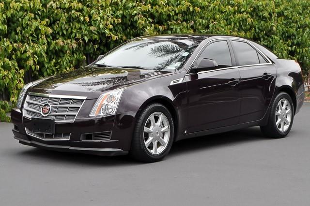 2008 CADILLAC CTS 36L V6 SEDAN black cherry we finance everybody having trouble financing a car