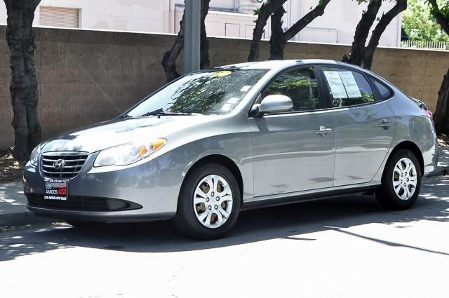 2010 HYUNDAI ELANTRA BLUE 4DR SEDAN grey we finance everybody having trouble financing a car w
