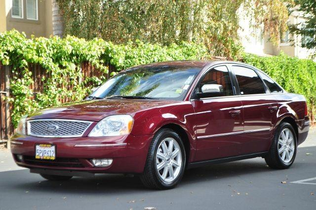 2005 FORD FIVE HUNDRED LIMITED 4DR SEDAN red we finance everybody   having trouble financing a