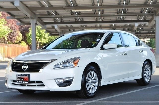 2013 NISSAN ALTIMA 25 S 4DR SEDAN white we finance everybody  having trouble financing a car