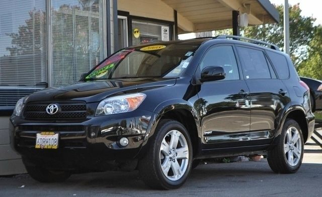 2008 TOYOTA RAV4 SPORT 4X2 SUV black we finance everybody  having trouble financing a car we g