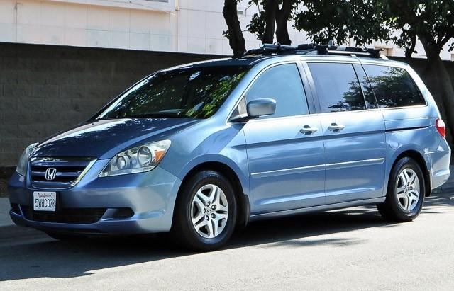 2006 HONDA ODYSSEY EX-L blue we finance everybody having trouble financing a car we guarantee