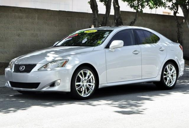 2006 LEXUS IS 250 BASE 4DR SEDAN 25L V6 6A silver we finance everybody having trouble financi
