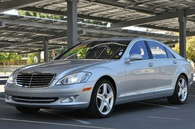 2007 MERCEDES-BENZ S-CLASS S550 4DR SEDAN silver we finance everybody  having trouble financing