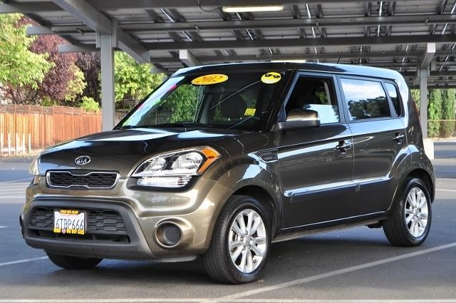 2012 KIA SOUL  4DR WAGON 6A gray we finance everybody  having trouble financing a car we gura