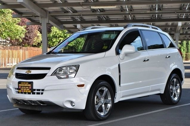 2012 CHEVROLET CAPTIVA SPORT LT 4DR SUV white we finance everybody  having trouble financing a c