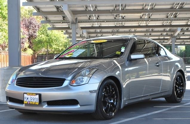 2005 INFINITI G35 BASE RWD 2DR COUPE gray we finance everybody  having trouble financing a car