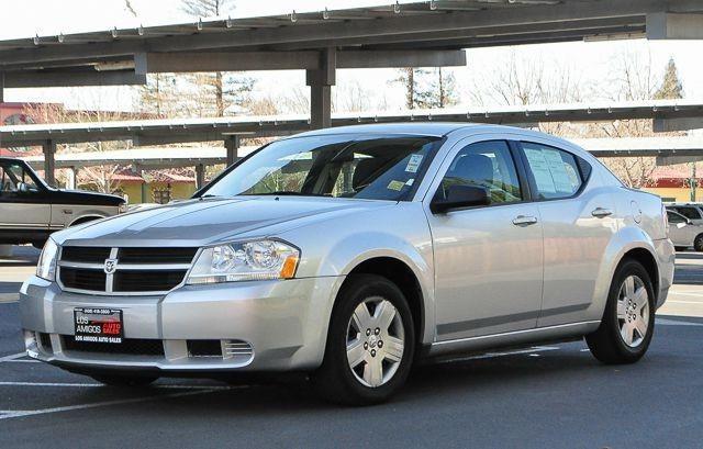 2010 DODGE AVENGER SXT 4DR SEDAN silver we finance everybody  having trouble financing a car w