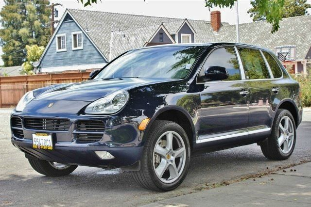 2005 PORSCHE CAYENNE S AWD 4DR SUV blue we finance everybody  having trouble financing a car w