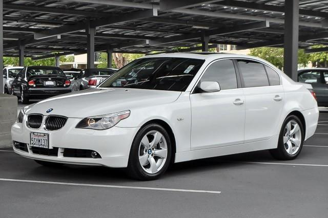 2006 BMW 5 SERIES 525I 4DR SEDAN white we finance everybody having trouble financing a car we