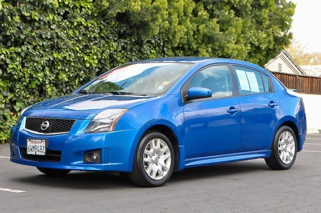 2012 NISSAN SENTRA 20 SR 4DR SEDAN blue we finance everybody having trouble financing a car