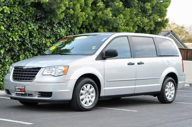 2008 CHRYSLER TOWN AND COUNTRY LX MINI VAN PASSENGER silver thank you for your interest in one of