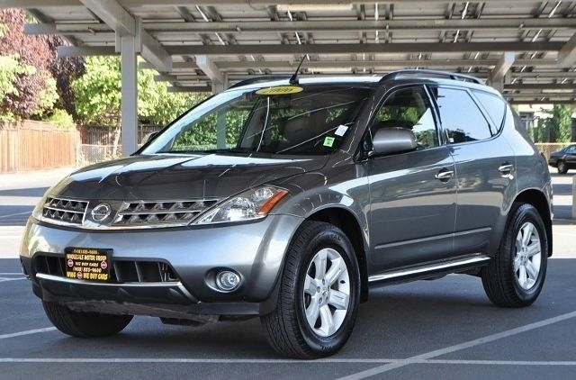 2006 NISSAN MURANO SL 4DR SUV gray we finance everybody  having trouble financing a car we gur