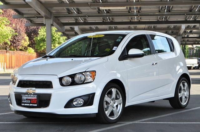 2014 CHEVROLET SONIC LTZ AUTO 4DR HATCHBACK W1SF whitw we finance everybody  having trouble fin
