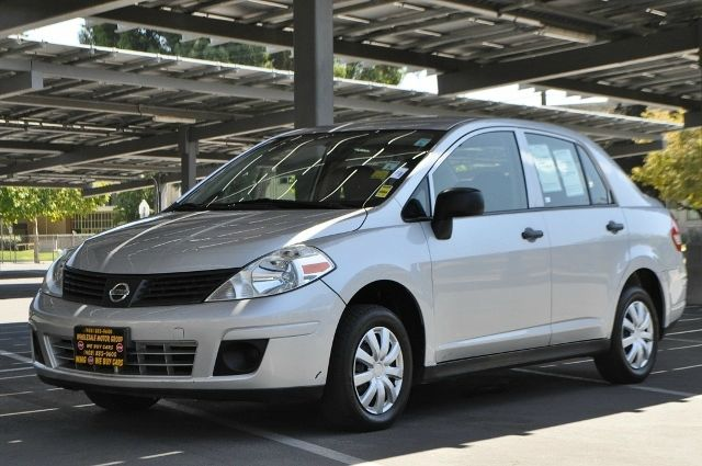 2010 NISSAN VERSA 16 4DR SEDAN 5M silver we finance everybody  having trouble financing a car