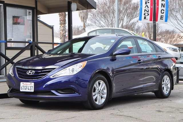 2012 HYUNDAI SONATA GLS blue contact los amigos auto sales today for information on dozens of vehi