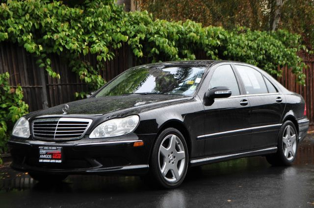 2003 MERCEDES-BENZ S-CLASS S500 4DR SEDAN black we finance everybody  having trouble financing a