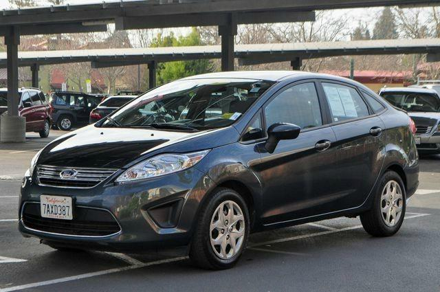 2011 FORD FIESTA SE 4DR SEDAN gray we finance everybody  having trouble financing a car we gur
