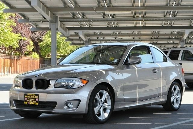 2012 BMW 1 SERIES 128I 2DR COUPE SULEV gray we finance everybody  having trouble financing a car