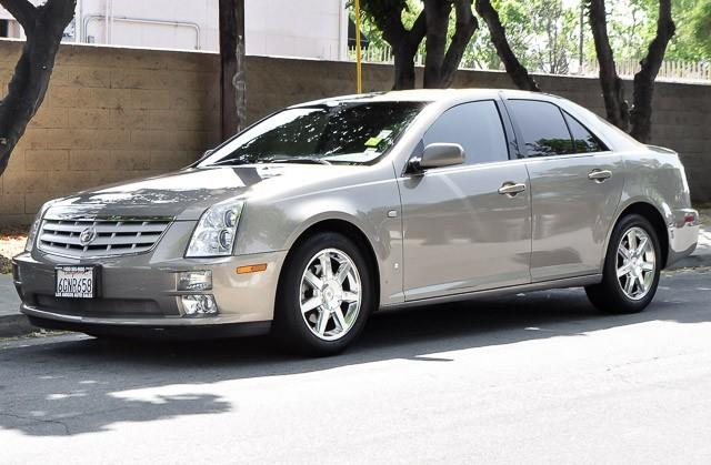 2007 CADILLAC STS gray we finance everybody having trouble financing a car we guarantee 100
