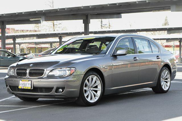 2008 BMW 7 SERIES 750LI 4DR SEDAN gray we finance everybody  having trouble financing a car we