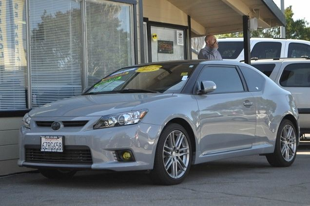 2013 SCION TC BASE 2DR COUPE 6M gray we finance everybody  having trouble financing a car we g