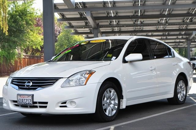 2012 NISSAN ALTIMA 25 S 4DR SEDAN white we finance everybody  having trouble financing a car