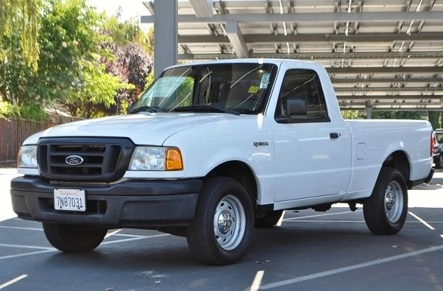 2004 FORD RANGER XL 2DR REGULAR CAB RWD STYLESIDE white we finance everybody  having trouble fin