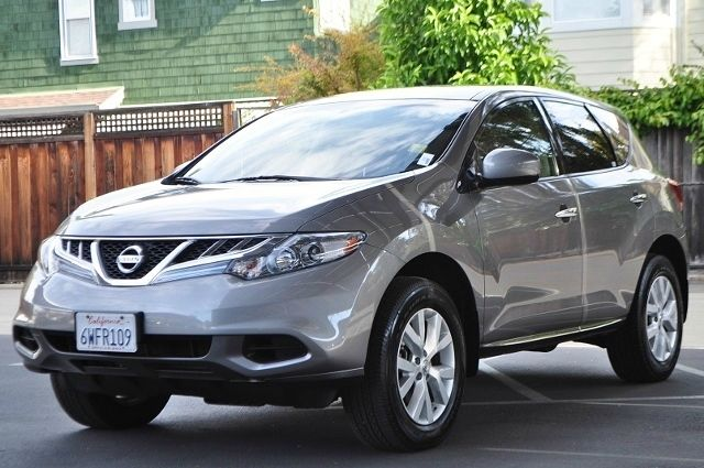 2012 NISSAN MURANO LE AWD 4DR SUV gray we finance everybody  having trouble financing a car we