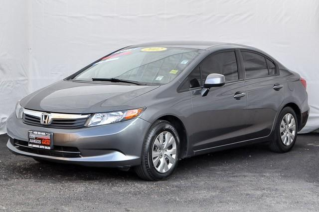 2012 HONDA CIVIC LX 4DR SEDAN 5A silver we finance everybody having trouble financing a car we