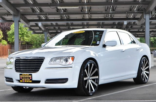 2012 CHRYSLER 300 BASE 4DR SEDAN white we finance everybody  having trouble financing a car we