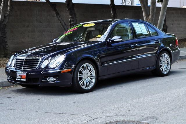 2008 MERCEDES-BENZ E-CLASS E350 4DR SEDAN blue we finance everybody having trouble financing a c
