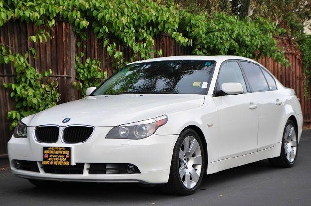 2006 BMW 5 SERIES 530I 4DR SEDAN white we finance everybody  having trouble financing a car we