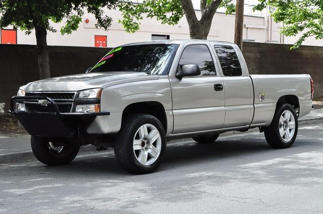 2006 CHEVROLET SILVERADO 1500 WORK TRUCK 4DR EXTENDED CAB 65 tan gray we finance everybody hav